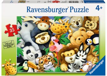 RBURG - SOFTIES PUZZLE 35PC