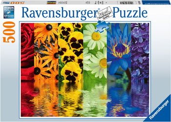 FLORAL REFLECTIONS 500 PC | RAVENSBURGER | Toyworld Frankston