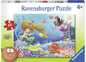 RBURG - MERMAID TALES PUZZLE 60PC | Toyworld Frankston | Toyworld Frankston