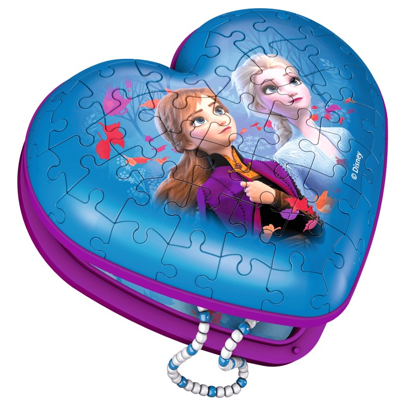 RBURG FROZEN 2 HEART BOX 3D 54PC