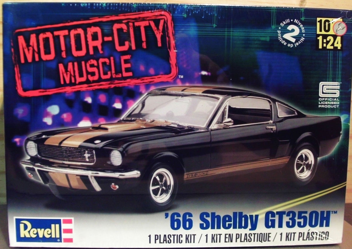REVELL 66 SHELBY GT350H | REVELL | Toyworld Frankston