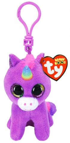 BEANIE BOOS CLIP ON ROSETTE PURPLE UNICORN | Toyworld Frankston | Toyworld Frankston