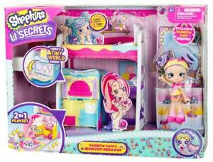 SHOPKINS LIL' SECRETS S1 BEDROOM HIDEAWAY