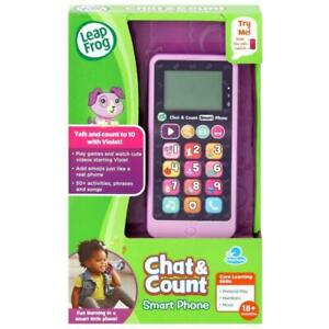 CHAT & COUNT SMART PHONE (VIOLET) - REFRESH