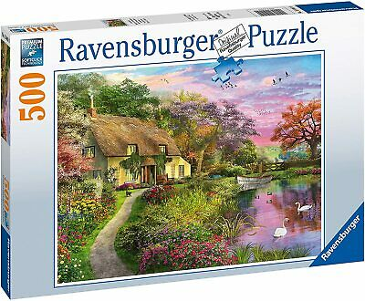 RAVENSBURGER COUNTRY HOUSE 500PC