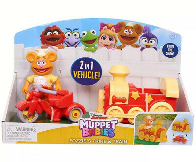 MUPPET BABIES 2 IN 1 TRICYCLE AND VEHICLE - FOZZIE