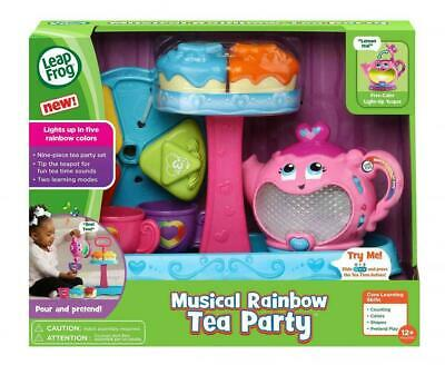 MUSICAL RAINBOW TEA PARTY REFRESH