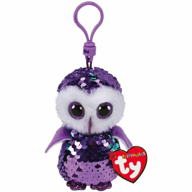 BEANIE BOOS SEQUINS CLIPS MOONLIGHT | TY BEANIES | Toyworld Frankston
