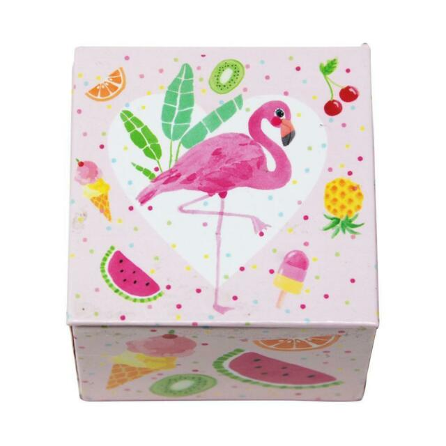 FABULOUS FLAMINGO MINI MUSIC BOX