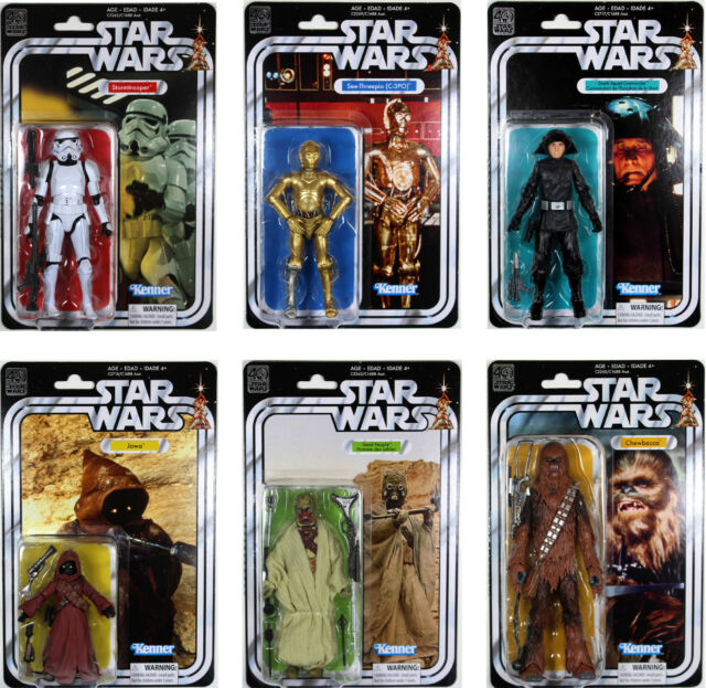 STAR WARS 40TH ANNIVERSARY FIGURES ASSORTED | STAR WARS | Toyworld Frankston