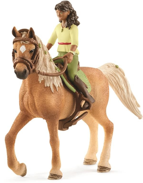 SCHLEICH - HORSE CLUB SARAH AND MYSTERY
