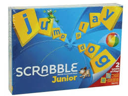SCRABBLE JUNIOR | MATTEL GAMES | Toyworld Frankston