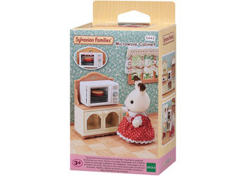 SYLVANIAN FAMILIES MICROWAVE CABINET