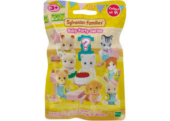 SF BABY PARTY SERIES ASST | SYLVANIAN FAMILIES | Toyworld Frankston