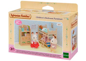 SF - CHILDRENS BEDROOM FURNITURE SET | SYLVANIAN FAMILIES | Toyworld Frankston