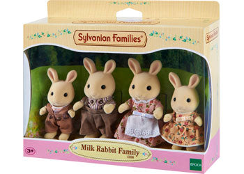 SF - MILK RABBIT FAMILY | SYLVANIAN FAMILIES | Toyworld Frankston