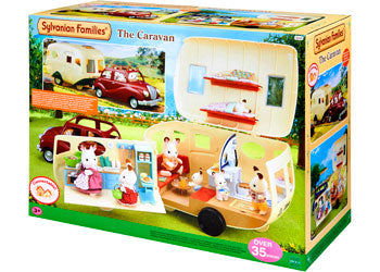 SF - THE CARAVAN | SYLVANIAN FAMILIES | Toyworld Frankston