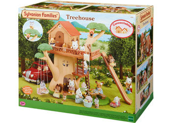 SF - TREE HOUSE | SYLVANIAN FAMILIES | Toyworld Frankston