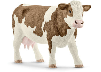 SCHLEICH - SIMMENTAL COW | SCHLEICH | Toyworld Frankston