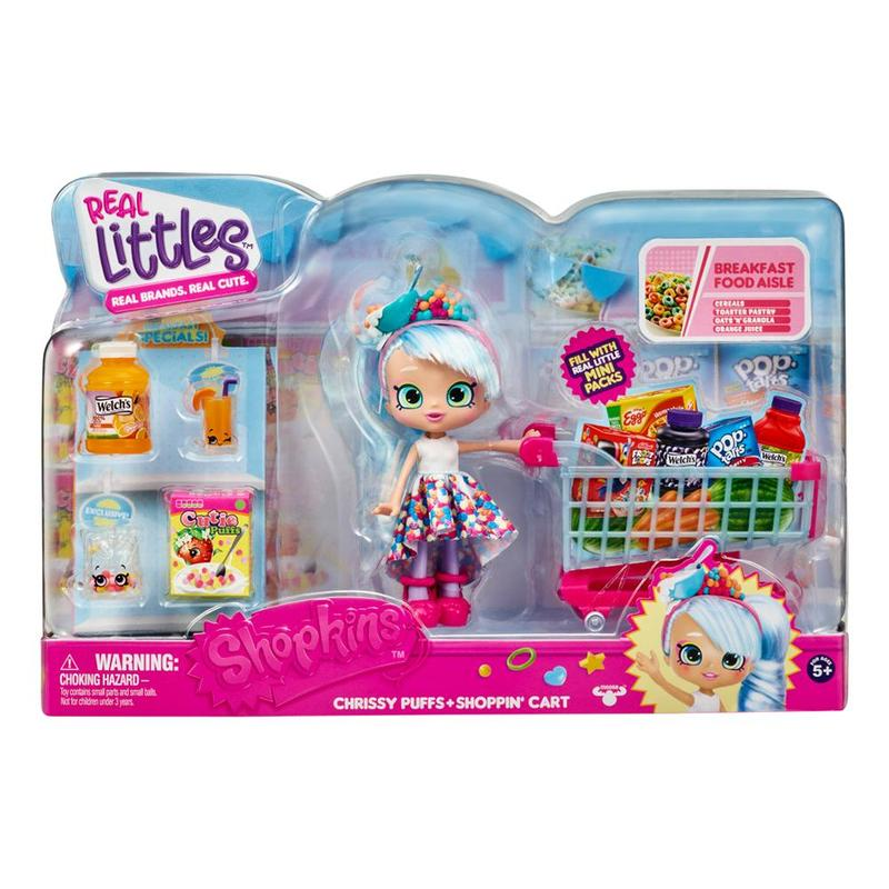 SHOPKINS S12 CHRISSY PUFFS SHOPPING CART