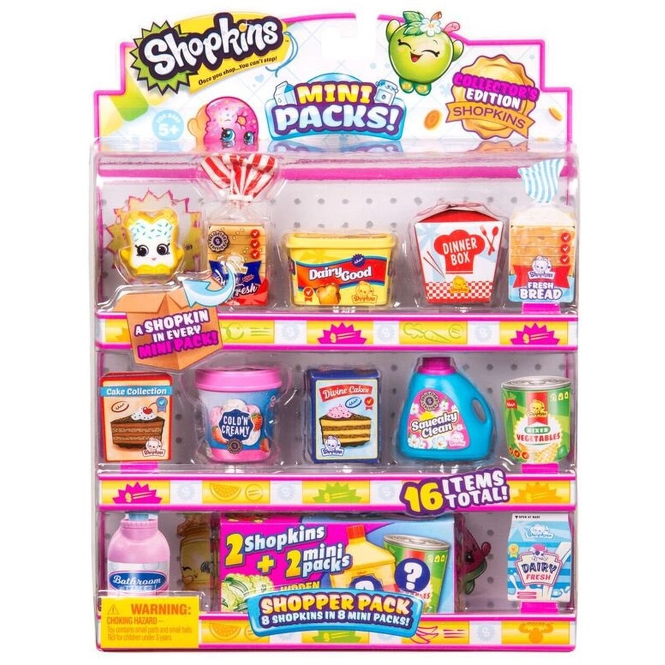 SHOPKINS S10 SHOPPER PCK