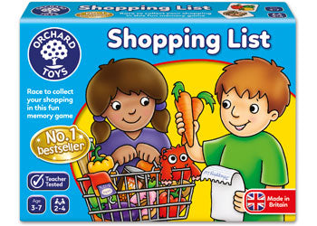 ORCHARD GAME - SHOPPING LIST | ORCHARD TOYS | Toyworld Frankston