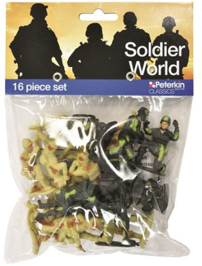SOLDIER WORLD 16PC FIG
