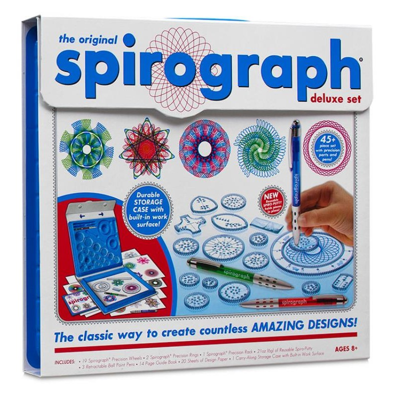 SPIROGRAPH DELUXE KIT | Toyworld Frankston | Toyworld Frankston