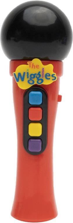 THE WIGGLES MICROPHONE ASSORTED RED