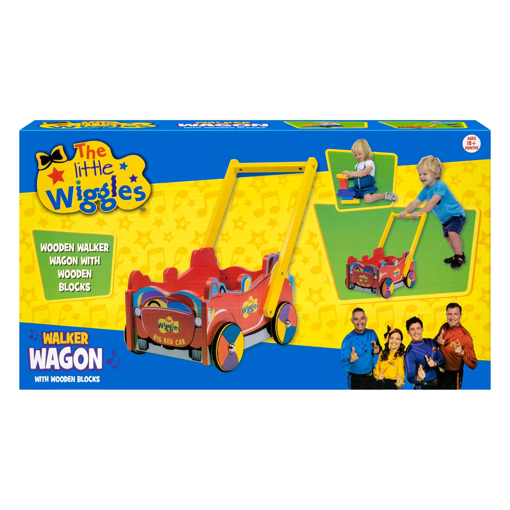 THE WIGGLES WALKER WAGON