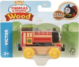 THOMAS & FRIENDS WOODEN RAILWAY SMALL ENGINES - VICTOR