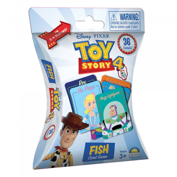 TOY STORY 4 FISH CARD GAME | TOY STORY | Toyworld Frankston