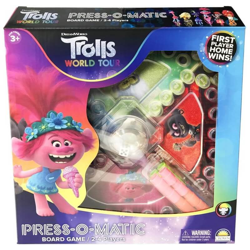 TROLLS 2 PRESS-O-MATIC