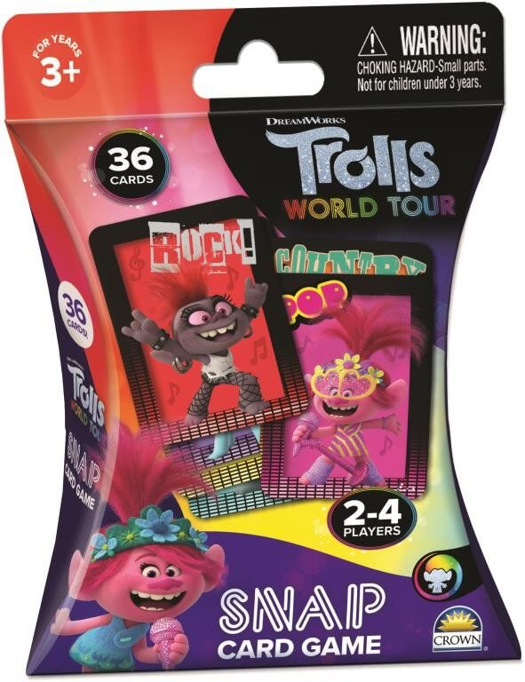 TROLLS 2 SNAP CARD GAME