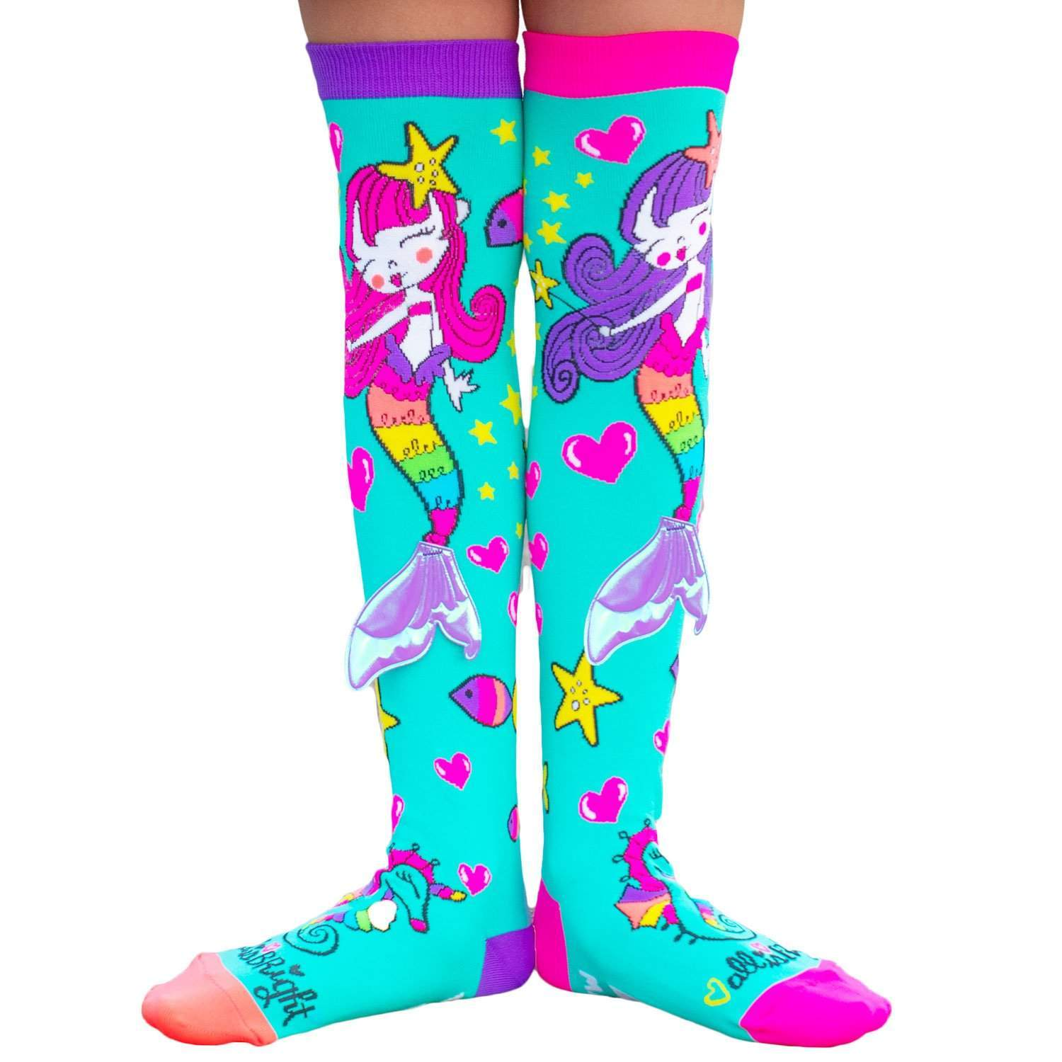 MADMIA UNDER THE SEA SOCKS WITH 3D TAIL