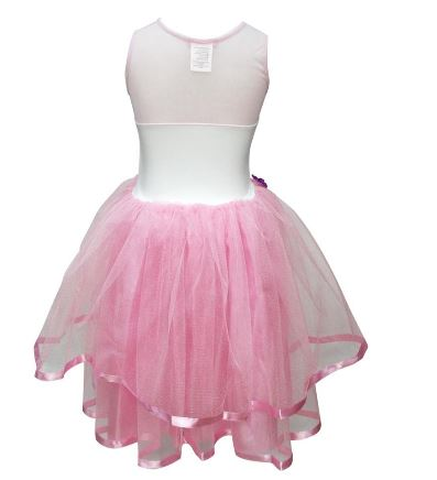 UNICORN DRESS SIZE 5/6 PALE PINK