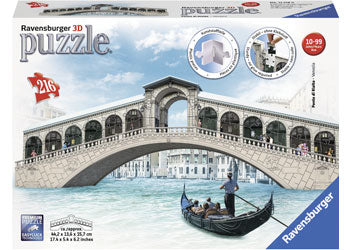RBURG VENICES RIALTO BRIDGE 3D PUZZLE 216 PIECE | Toyworld Frankston | Toyworld Frankston