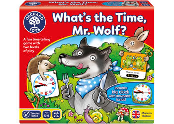 ORCHARD GAME - WHATS THE TIME MR WOLF? | ORCHARD TOYS | Toyworld Frankston
