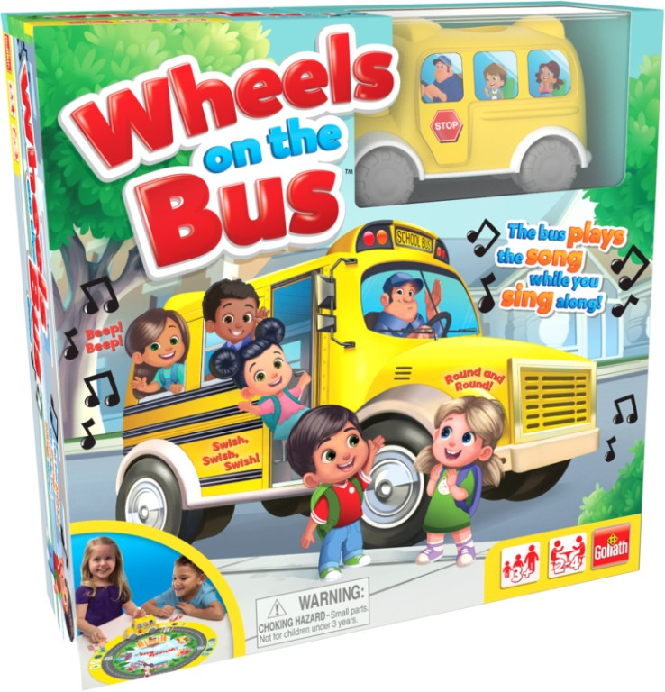 WHEELS ON THE BUS BOARD GAME