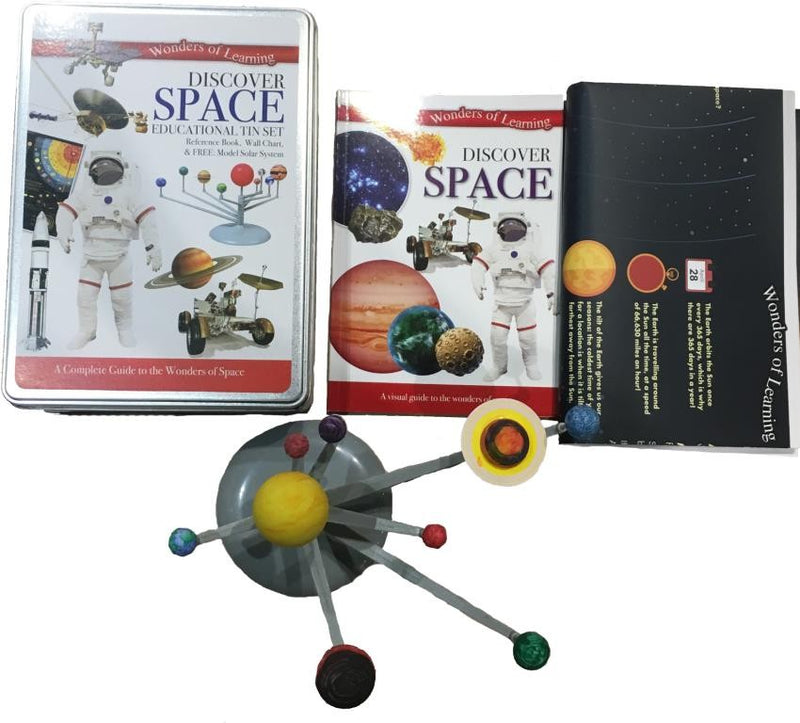 DISCOVER SPACE TIN