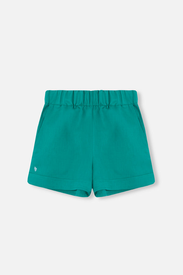 SHORT GREEN HARLOW
