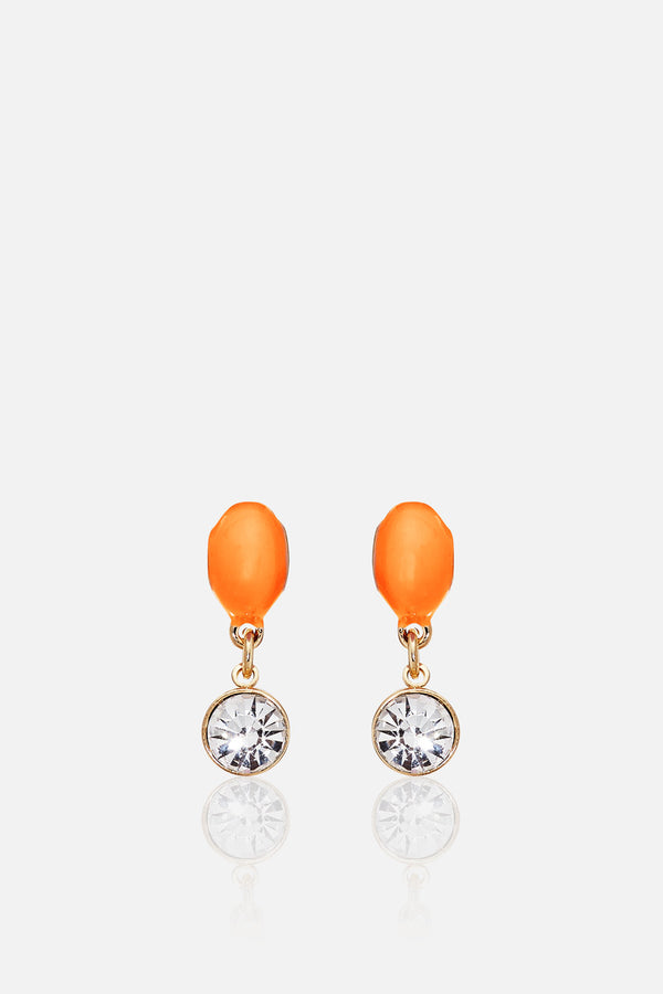 Pendientes Orange Drop