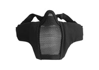 Invader Gear MK. II Steel Half Face Mask (Sort)