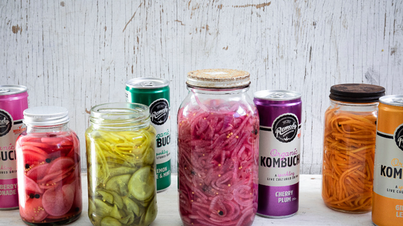 Pickled Vegetables with Remedy Kombucha