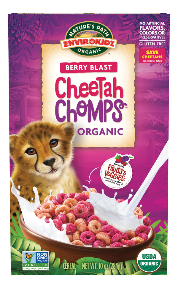Organic Cheetah Champs Cereal (284G)