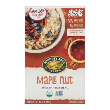 Organic Instant Oatmeal Maple Nut (400G)