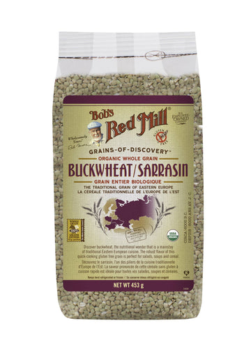 Organic Buckwheat Groats Raw (453G)