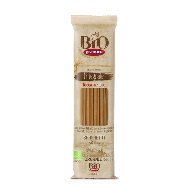 Organic Whole Wheat  Spaghetti (500G)
