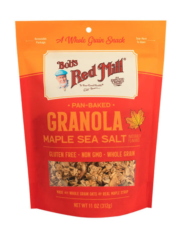 Gluten Free Granola Maple Sea Salt (312G)