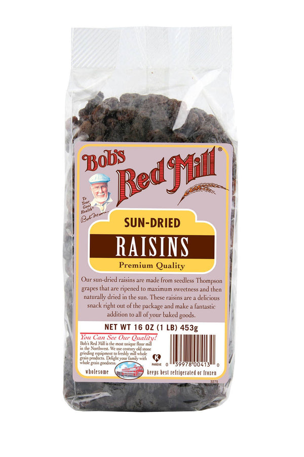 Raisins Unsulph Natural (453G)
